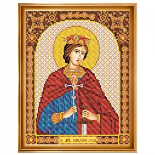 """Набiр для  вишивання iкони """"Св. Мч. Едуард (Едвард) Король Англійський"""""""