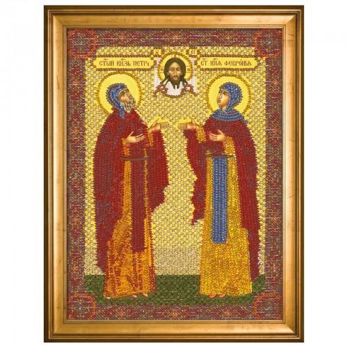 """Набiр для  вишивання iкони """"Свв. Блгвв. Князь Петро і Княгиня Февронія»"""""""