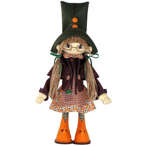 """Набір для шиття інтер'єрної каркасної ляльки """"Гертруда"""""""