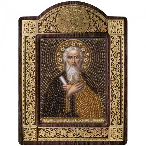 """набір для вишивки ікони в рамці-кіоті """"Ікона Прсв. Богородиці «Св. Апостол Андрій Первозванний"""""""