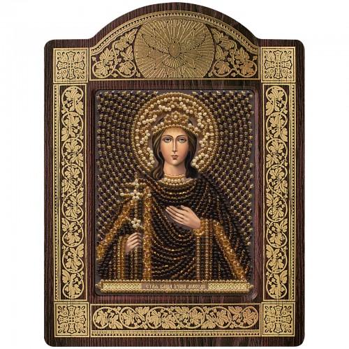 """набір для вишивки ікони в рамці-кіоті """"Св. Вмц. Ірина Македонська"""""""