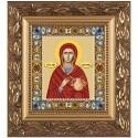 """Набiр для вишивання iкони """"Св. Вмц. Анастасія Узорішительниця"""""""