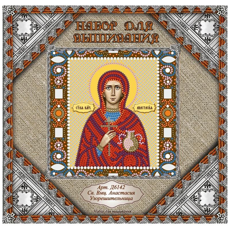 """Nova Sloboda - Набiр для вишивання iкони """"Св. Вмц. Анастасія Узорішительниця"""" / фото №1001"""