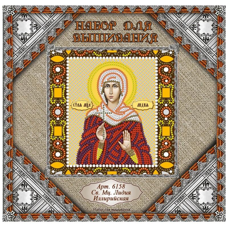 """Nova Sloboda - Набiр для вишивання iкони """"Св. Мц. Лідія Ілірійська"""" / фото №1031"""