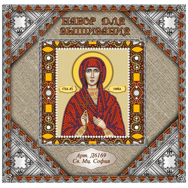 """Nova Sloboda - Набiр для вишивання iкони """"Св. Мц. Софія"""" / фото №1053"""