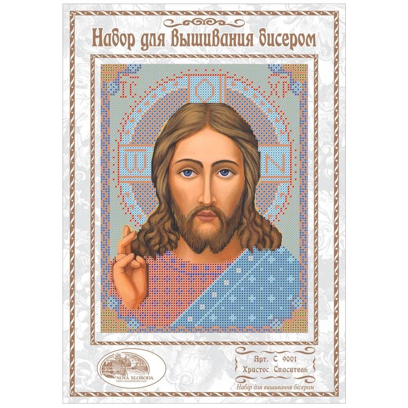 """Nova Sloboda - Набiр для вишивання iкони """"Христос Спаситель"""" / фото №1059"""