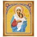 """Набор для вышивки иконы """"Богородица Леушинская"""""""