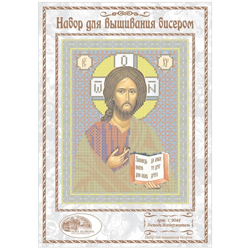 """Nova Sloboda - Набiр для вишивання iкони """"Христос Спаситель"""" / фото №1131"""