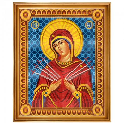 """Набор для вышивки иконы """"Богородица «Умягчение злых сердец»"""""""