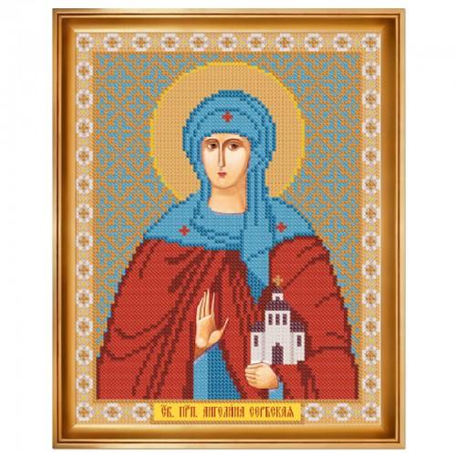"""Набор для вышивки иконы """"Св. Прп. Ангелина Сербская"""""""