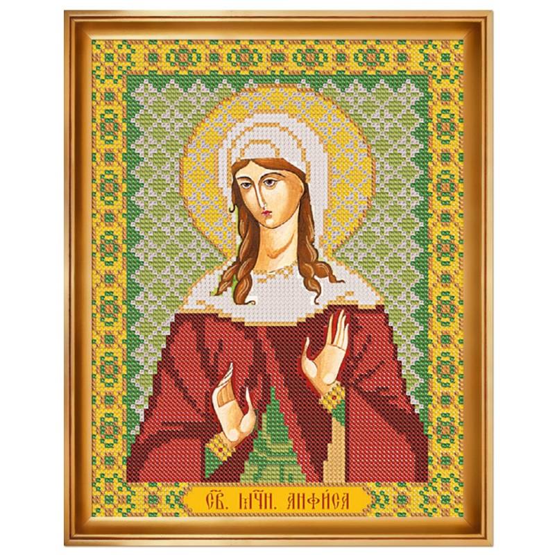 """Набiр для вишивання iкони """"Св. Мц. Анфіса Римська"""""""
