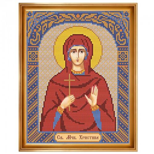 """Набор для вышивки иконы """"Св. Мц. Кристина (Христина) Тирская"""""""