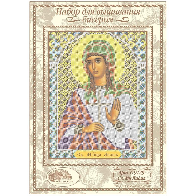 """Nova Sloboda - Набiр для вишивання iкони """"Св. Мц. Лідія Иллирийская"""" / фото №1213"""