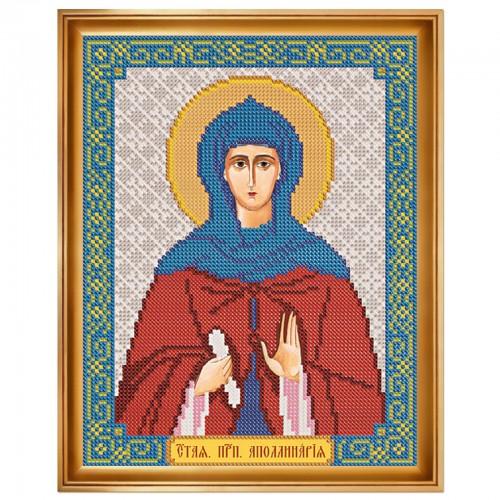 """Набор для вышивки иконы """"Св. Прп. Аполлинария"""""""