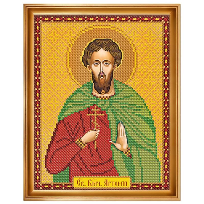 """Набiр для вишивання iкони """"Св. Вмч. Артемій Антіохійський"""""""