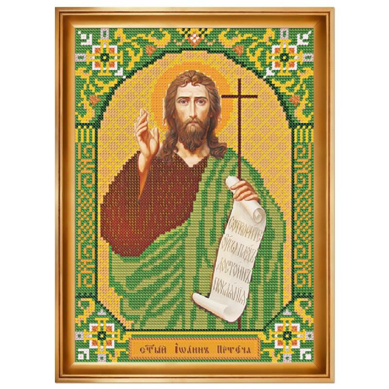 """Набiр для вишивання iкони """"Св. Прор. Іоан Предтеча"""""""