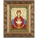 """Набор для вышивки иконы """"Богородица «Неупиваемая чаша»"""""""