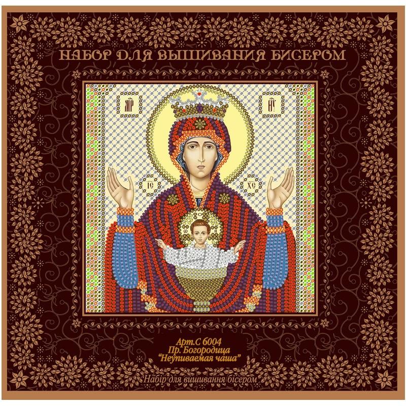 "Nova Sloboda - Набiр для вишивання iкони ""Богородиця «Неупиваєма чаша»"" / фото №1363"