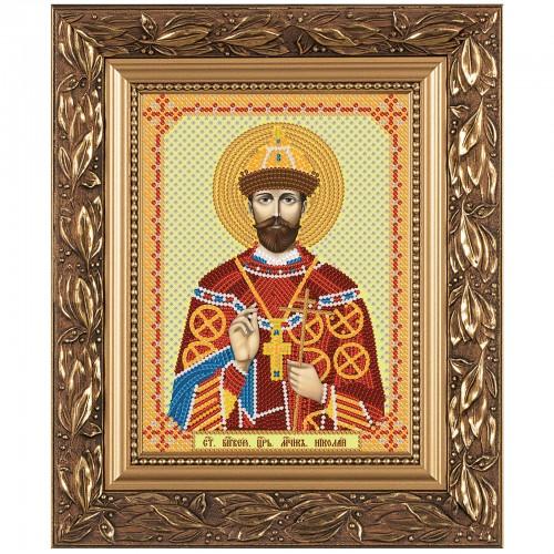 """Набор для вышивки иконы """"Св. Мч. Царь Николай"""""""