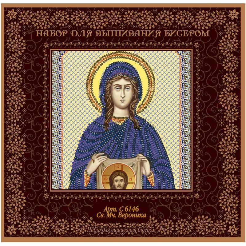 """Nova Sloboda - Набiр для вишивання iкони """"Св. Мц. Вероніка"""" / фото №1463"""