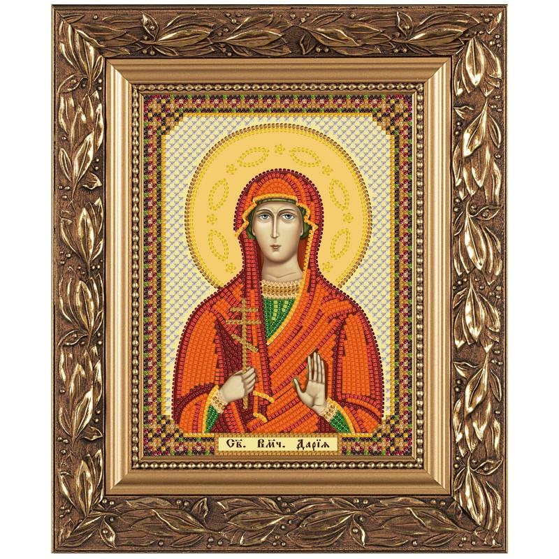 """Набiр для вишивання iкони """"Св. Мц. Дарина (Дарія) Римська"""""""