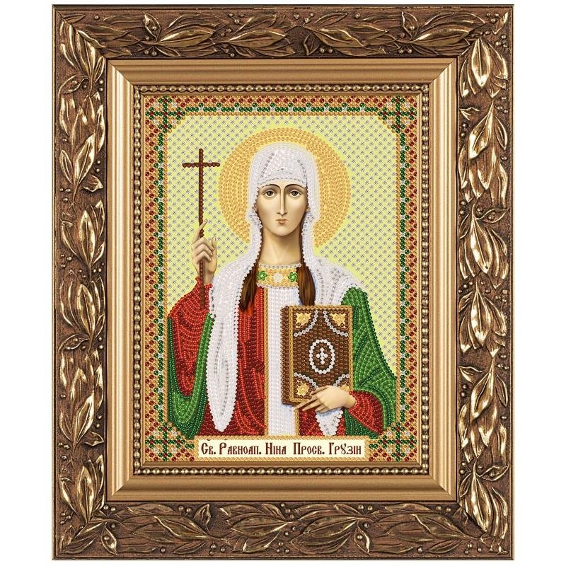 """Набiр для вишивання iкони """"Св. Рівноап. Ніна Просвіт. Грузії"""""""