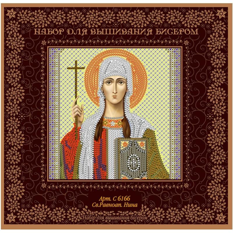 """Nova Sloboda - Набiр для вишивання iкони """"Св. Рівноап. Ніна Просвіт. Грузії"""" / фото №1503"""