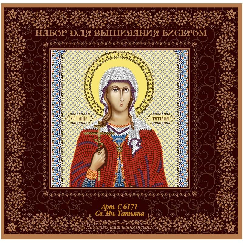 "Nova Sloboda - Набiр для вишивання iкони ""Св. Мц. Тетяна (Татіана) Римська"" / фото №1513"