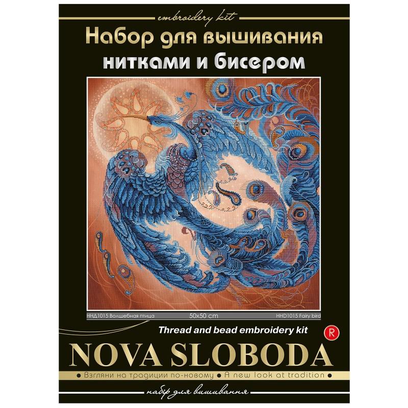 """Nova Sloboda - Набір для вишивки нитками та бісером """"Чарівний птах"""" / фото №1549"""