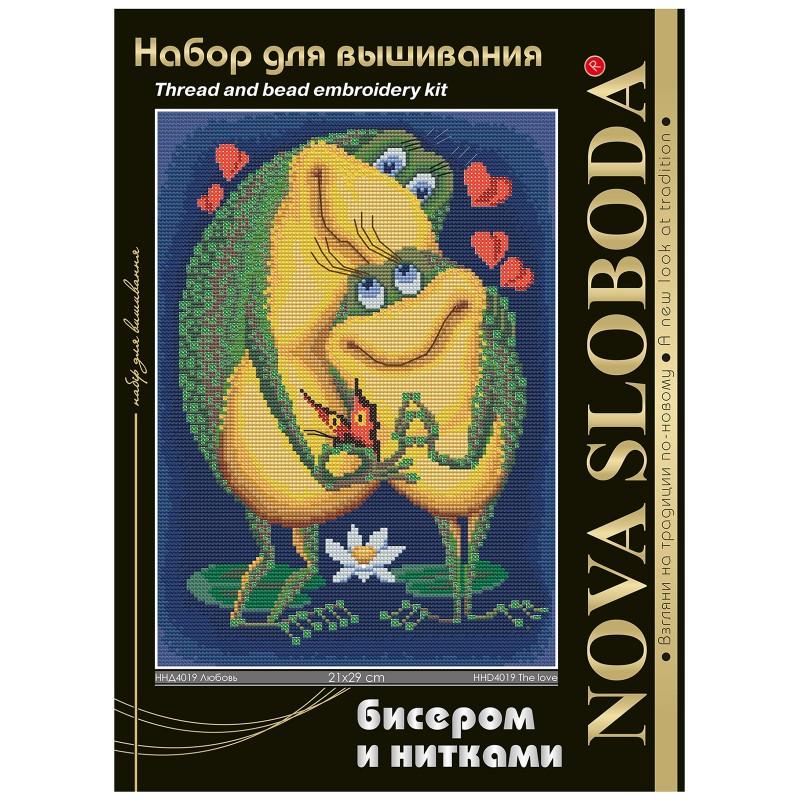 """Nova Sloboda - Набір для вишивки нитками та бісером """" Любов"""" / фото №1605"""