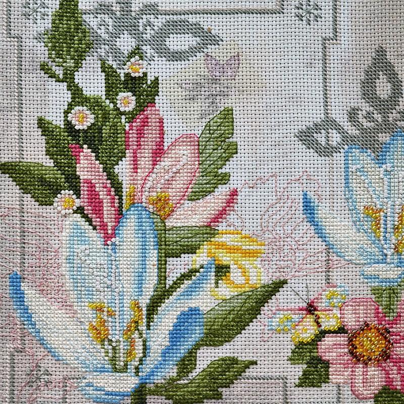 """Nova Sloboda - Набір для вишивки нитками та бісером """"Квіти життя"""" / фото №1642"""