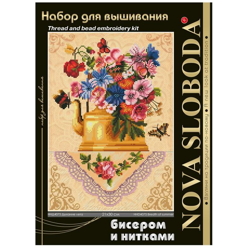 """Nova Sloboda - Набір для вишивки нитками та бісером """"Подих літа"""" / фото №1652"""