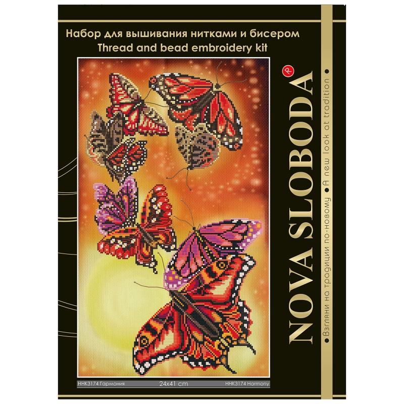 """Nova Sloboda - Набір для вишивки нитками та бісером """"Гармонія"""" / фото №1677"""