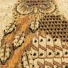 """Набір для вішивки на корковій основі """"Нічний птах"""""""