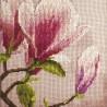 """Набор для вышивки нитками на канве с нанесенным фоновым изображением """"Магнолия Суланжа"""""""