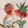 """Набір для вишивки гладдю та спеціальними стібками """"Птахи-листоноші. Вісник миру"""""""