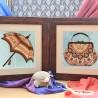 """Набір для вишивки на полімерній перфорованій основі Perfostitch """"Бурштинова колекція.Маленькі таємниці"""""""