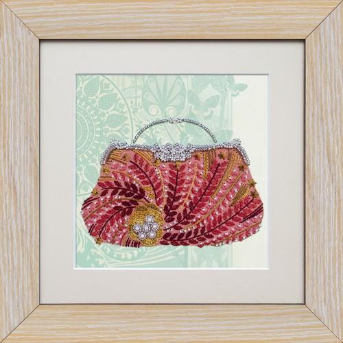 """Набор для вышивки на полимерной перфорированной основе Perfostitch """"Рубиновая коллекция. Выход в свет"""""""
