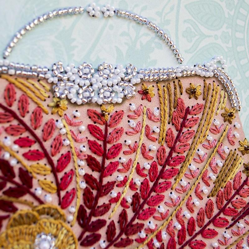 """Nova Sloboda - Набір для вишивки на полімерній перфорованій основі Perfostitch """"Рубінова колекція. Вихід у світ"""" / фото №2027"""