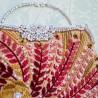"""Набір для вишивки на полімерній перфорованій основі Perfostitch """"Рубінова колекція. Вихід у світ"""""""