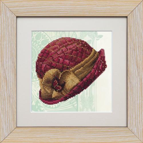 """Набор для вышивки на полимерной перфорированной основе Perfostitch """"Рубиновая коллекция. Королева стиля"""""""