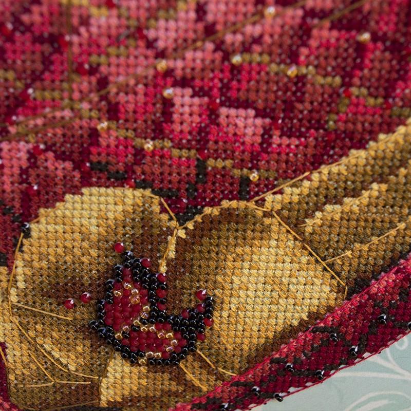 """Nova Sloboda - Набір для вишивки на полімерній перфорованій основі Perfostitch """"Рубінова колекція. Королева стилю"""" / фото №2031"""