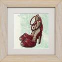 """Набор для вышивки на полимерной перфорированной основе Perfostitch """"Рубиновая коллекция. Танец страсти"""""""