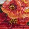 """Набір для вишивки нитками на канві з фоновим зображенням """"Гранатова гілка"""""""