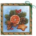 """Набор для вышивки на полимерной перфорированной основе Perfostitch """"Рождество"""""""