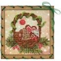 """Набор для вышивки на полимерной перфорированной основе Perfostitch """"Рождественские сладости"""""""