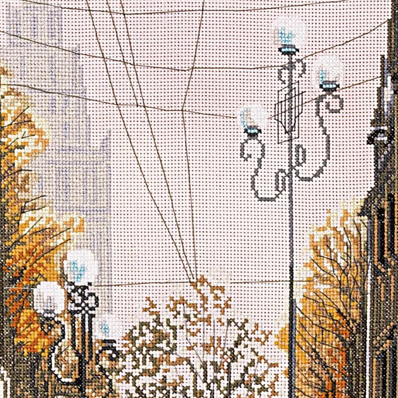 """Nova Sloboda - Набір для вишивки нитками на канві з фоновим зображенням """"Після дощу"""" / фото №219"""