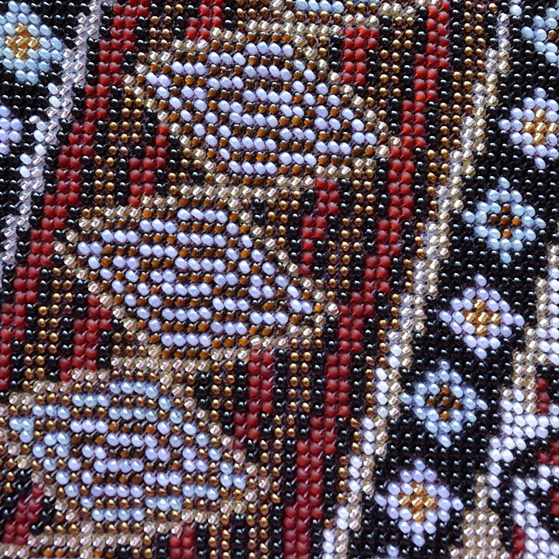 """Nova Sloboda - Набір для вишивки бісером """"Африканка з лілеєю"""" / фото №2201"""