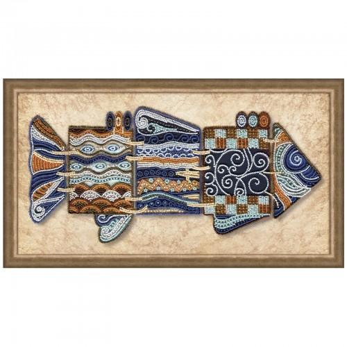 """Набор для вышивки бисером """"Чудо-рыба"""""""