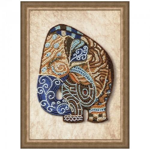 """Набор для вышивки бисером """"Индийский слон"""""""